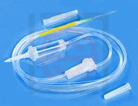 Infusion Set Without Air vent Tube Latex