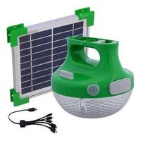 Solar Powered Portable Led Lamps With Mobile Charger