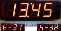 Temperature Monitor Server Room Clock