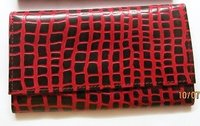 Leather Hand Clutch Purse