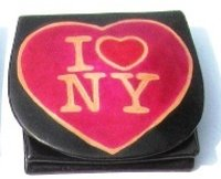 Printed Leather Coin Purse