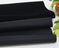 Black Gift Box Knitted Flocked Fabric (B3-J15)