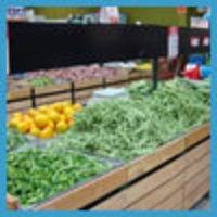 Vegetable And Fruit Display Rack