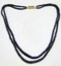 Blue Sapphire Gemstones Beads 2 Strands Necklace