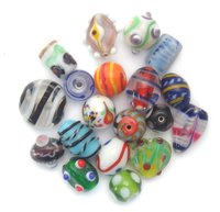 Decorative Glass Mix Bead