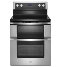 Double Oven Electric Range With True Convection Cooking