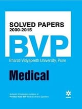 Solved Papers 2000-2015 For Bvp Medical Book