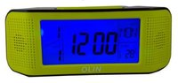 Voice Controlled Thermometer Cum Lcd Alarm Clock