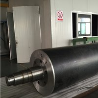 Carbon Fiber Transmission Shaft And Carbon Fiber Roller For Print Equipments