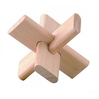 Wooden Puzzle - Twisted Propeller Wooden Puzzle - 3d Puzzle