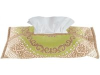 Tissue Box Cover Gallasia Green Brown