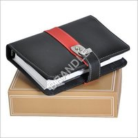 Colored Genuine Leather Diary Cover