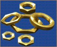 Nickel Plated Brass Hexagonal Lock Nuts