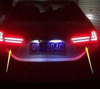 Car LED Head And Tail Lamps