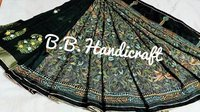 Handicraft Worked Katha Stitch Saree