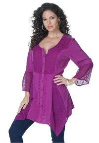Fashionable Ladies Rayon Tops