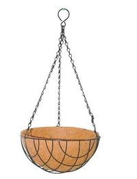 Garden Round Hanging Basket With Coco Coir Liner
