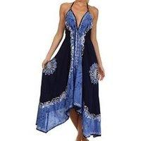 Ladies Cotton Batik Dresses