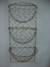 Robust Metal Wire Vegetable Baskets