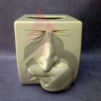 Ceramic Decorative Tissue Box