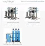 Industrial RO Packed System