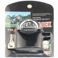 Alarm Padlock Electronic Alarm Lock For Door Bicycle/ Motorbike