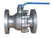 Api 2 Pc Flanged Floating Ball Valve in Wenzhou
