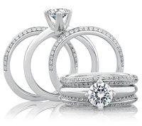 Attractive Platinum Ring