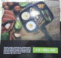 Master Pan Non-Stick Divided Grill