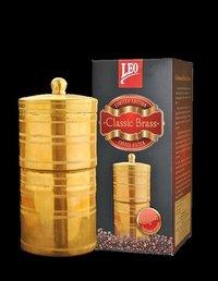 Leo Classic Brass Coffee Filter