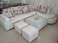 L Corner Round Sofa