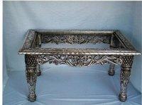 Antique Silver Tea Table