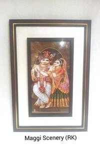 Radha Krishna Maggi Wall Scenery (Rk)
