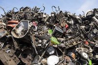 Used Radiator And Aluminum Scrap
