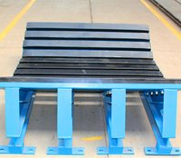 Pu Material Impact Bed For Conveyor System