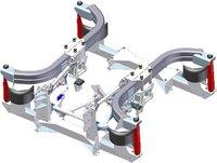 Durable Rear Air Suspension (Cow Horn Style)