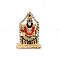 Mohan Rakhi Stone Studded Tirupati Balaji Designer
