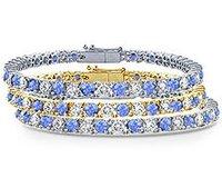 Tanzanite Tennis Bracelets