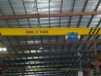 Easy To Operate Single Girder Eot Crane