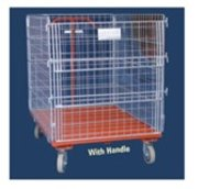 Wire Mesh Surround Trolley