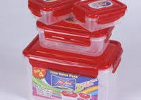 Lock and Seal Container (Set 4)