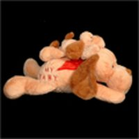 Stuffed Dog Toy With Baby