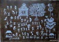 Decorative Warli Painting