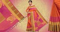 Ethnic Wear Ladies Silk Sarees
