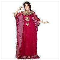 Ladies Red Farasha