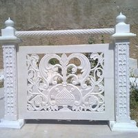 White Marble Carving