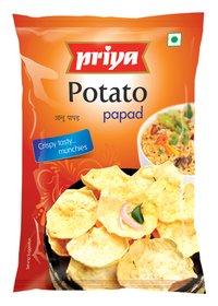 Potato Papads
