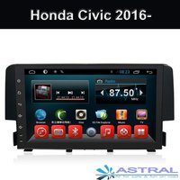 Honda Civic Android 2 Din Car Stereo GPS System