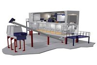 Containerized Flake Ice Plant With Conveying System