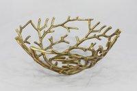 Aluminum Twig Basket